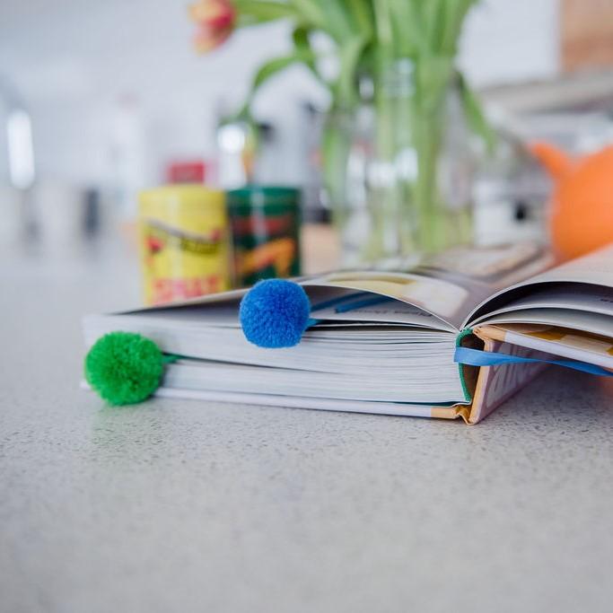 Pom Pom Paper Clips