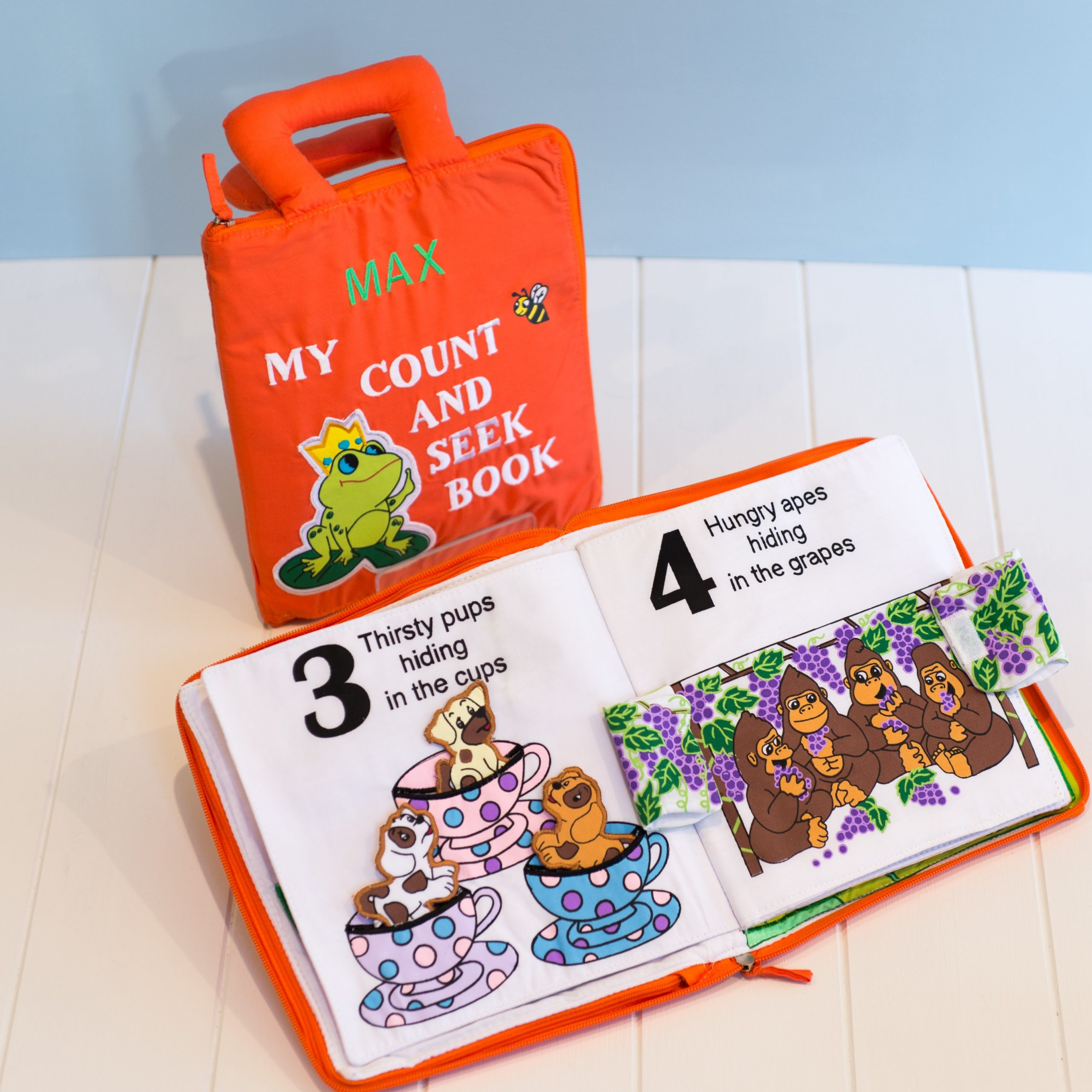 Count and Seek Fabric Book