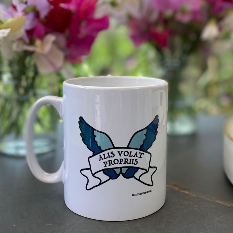 She Flies With Her Own Wings Mug
