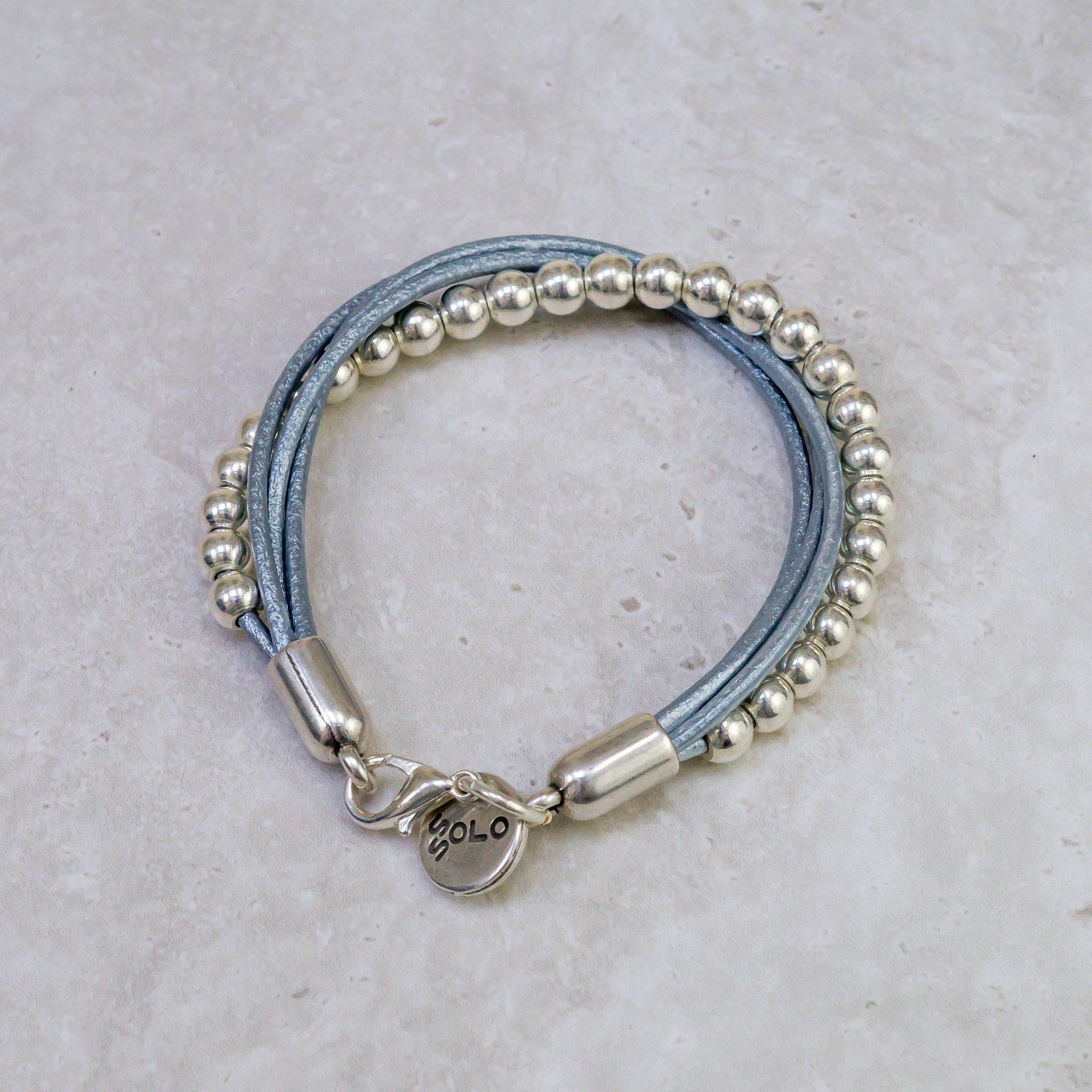 Silver Twist bracelets