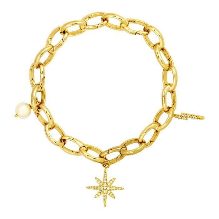 Elise charm bracelet
