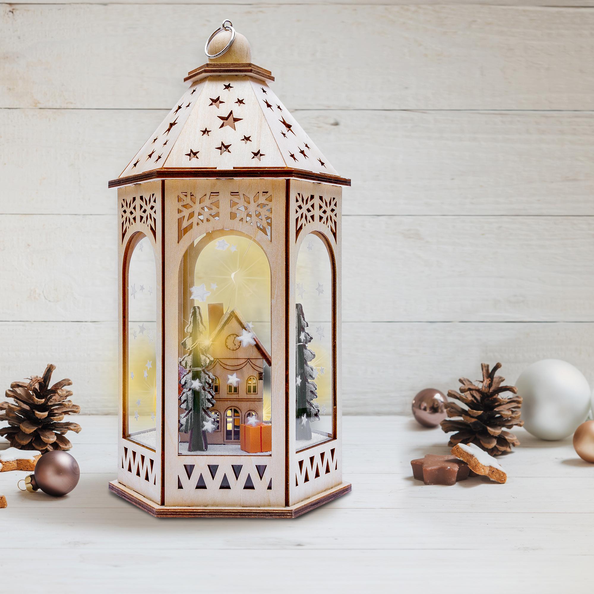 Alpine Cottage Lantern