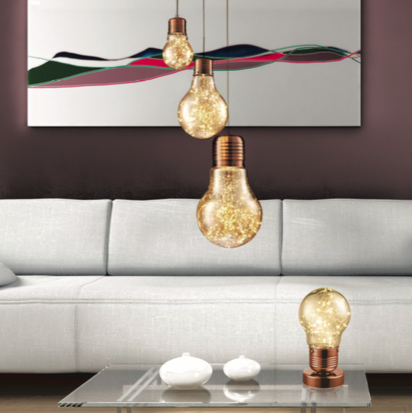 Statement LED Pendant Lightbulbs