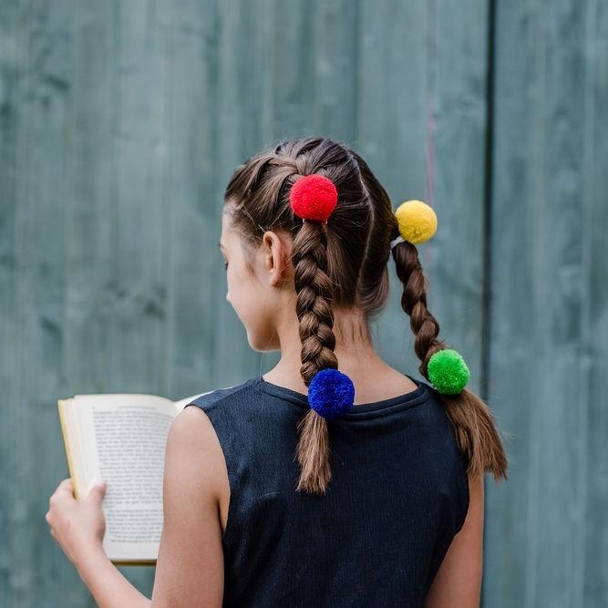 Pom Pom Hair Accessories