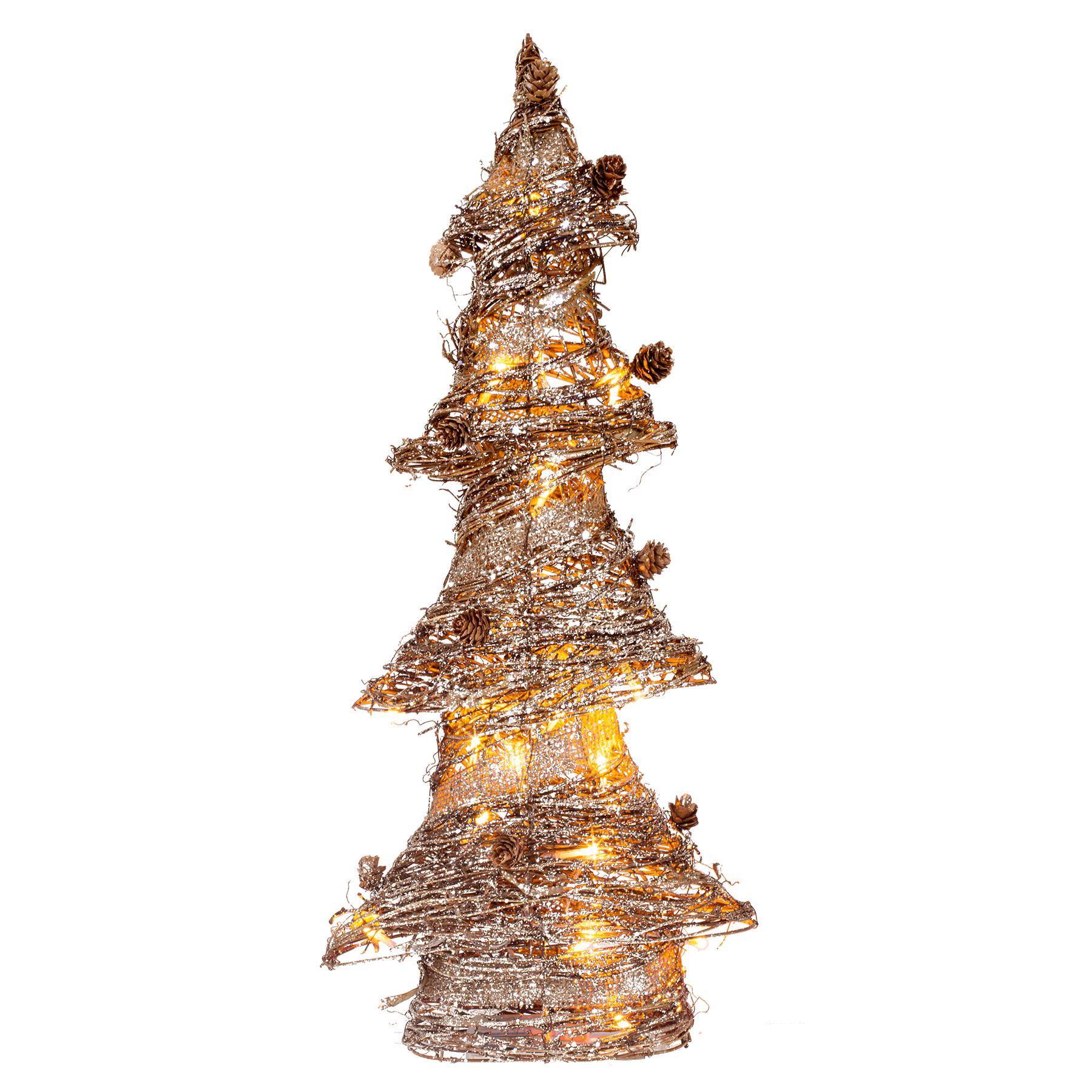 Rattan Collection – LED Christmas Tree