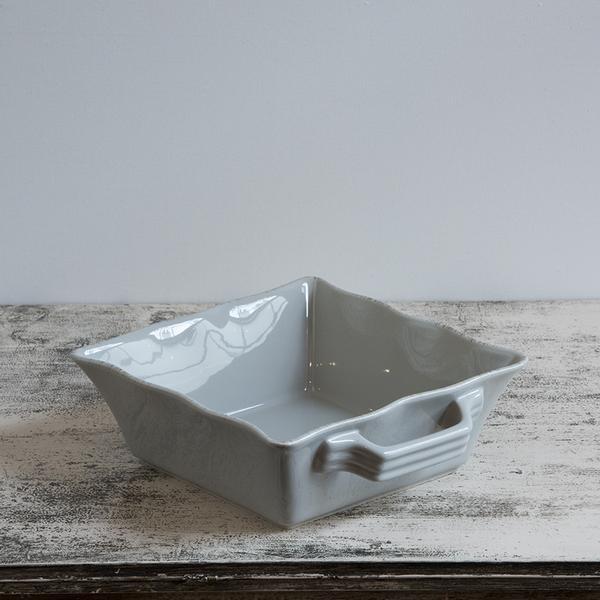 Ceramic Ovenware Dish – Small Square Taupe