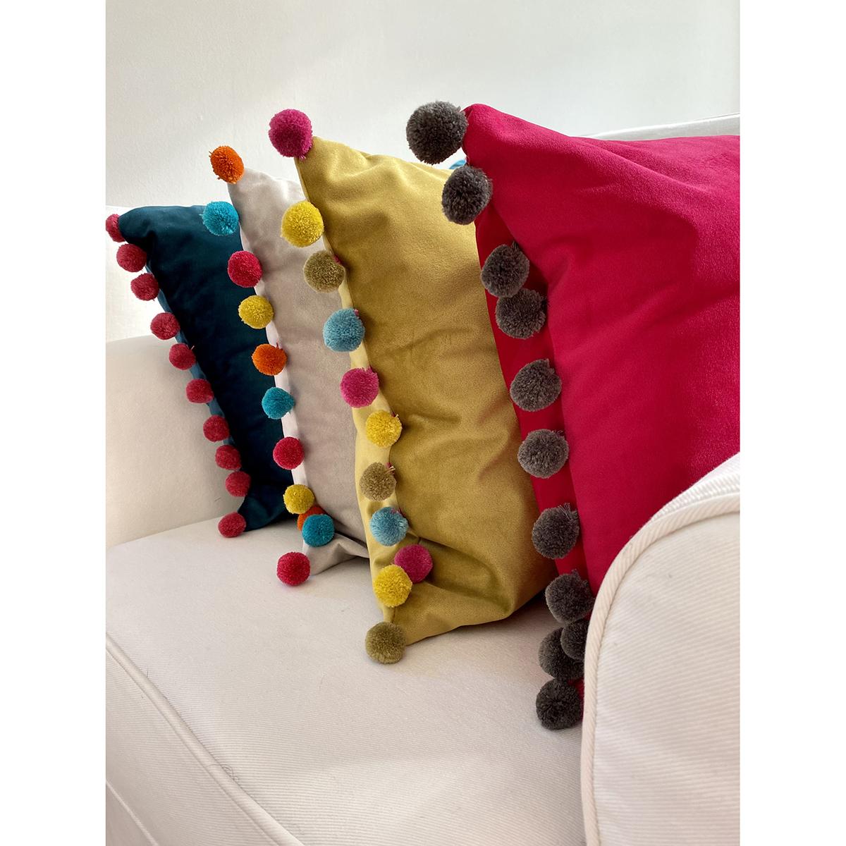 Fiesta Velvet Cushion
