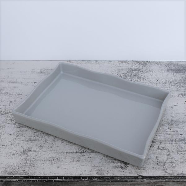 Ceramic Ovenware Flan Dish – Taupe