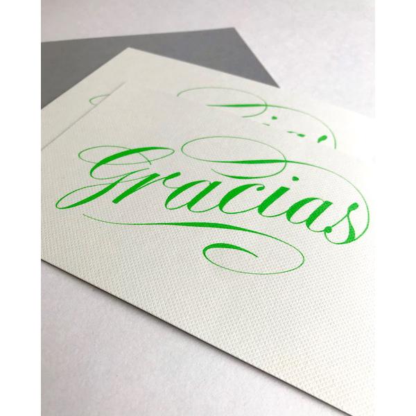 Luxury scriptGraciascards