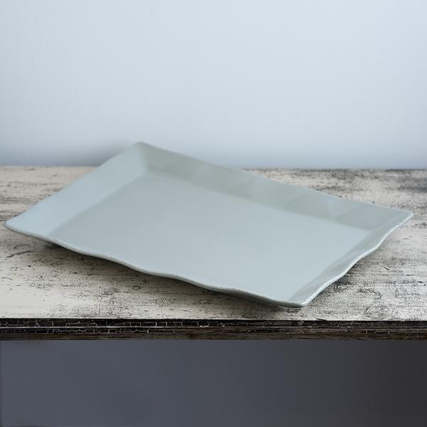 Ceramic Platter – Large Taupe
