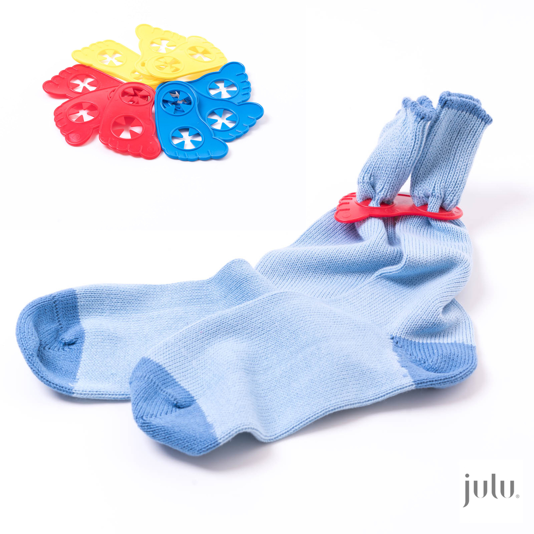 Little Feet Sock Sorters – Pack of 9