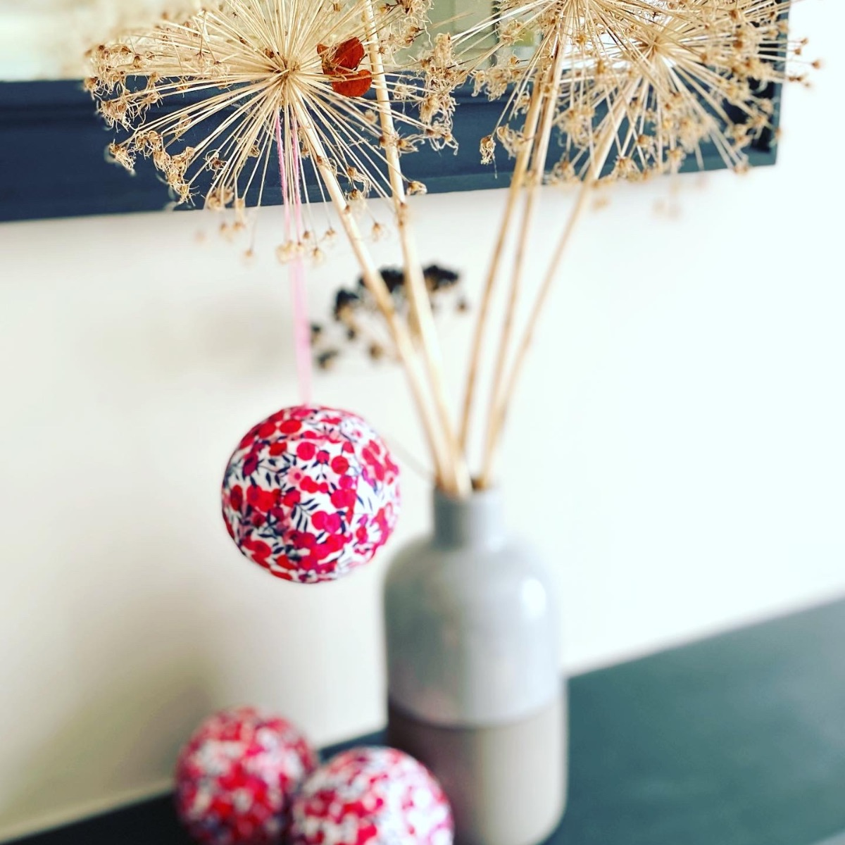 Liberty Christmas Bauble Decoration
