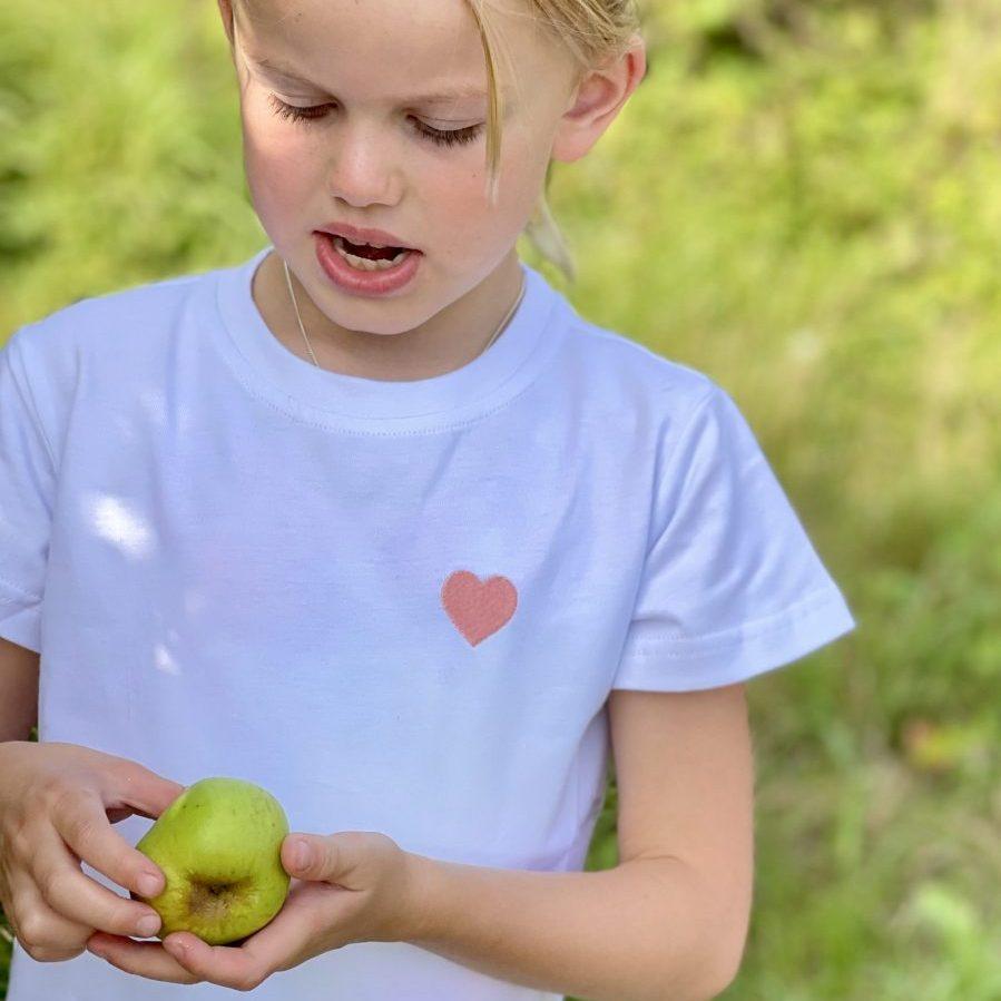 Pale Pink Heart T-Shirt