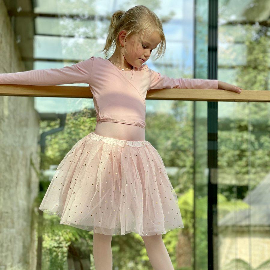 Pale Pink Skirt – Ballerina – Stars & Moons