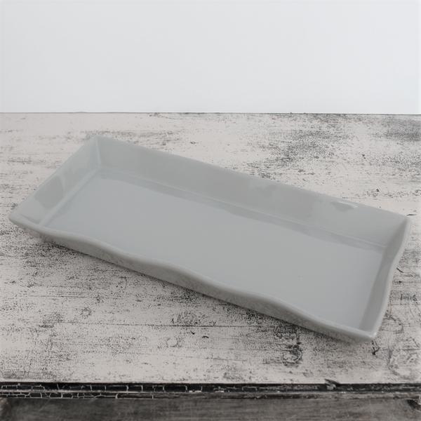 Ceramic Platter – Long Taupe