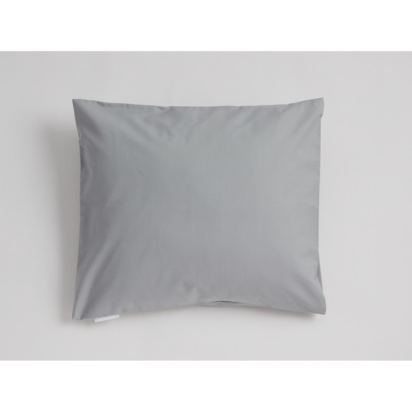Mini Snoooze cotton pillowcase (grey)