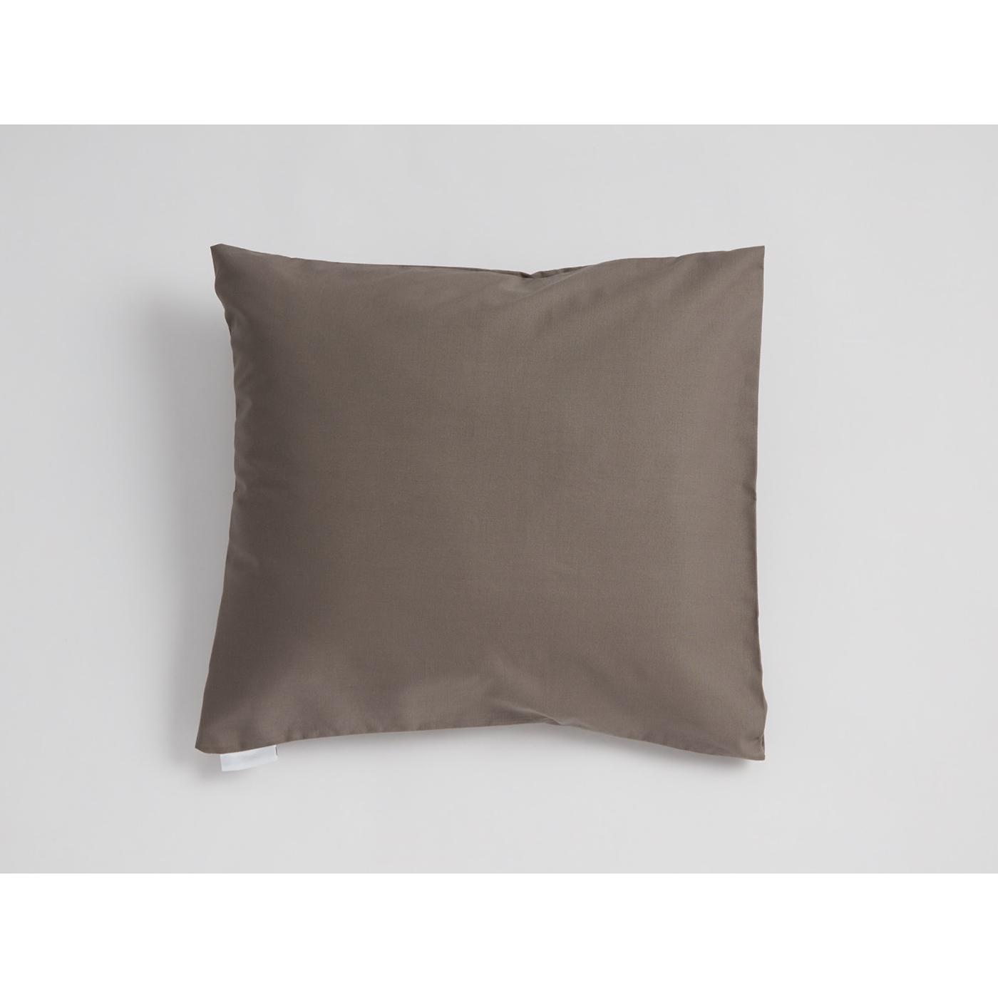Mini Snoooze cotton pillowcase (Mocha)