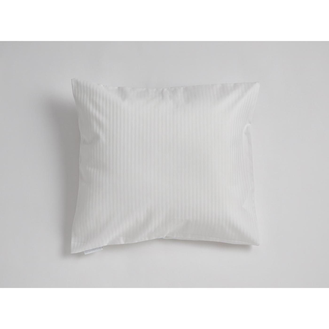 Mini Snoooze cotton pillowcase (white)