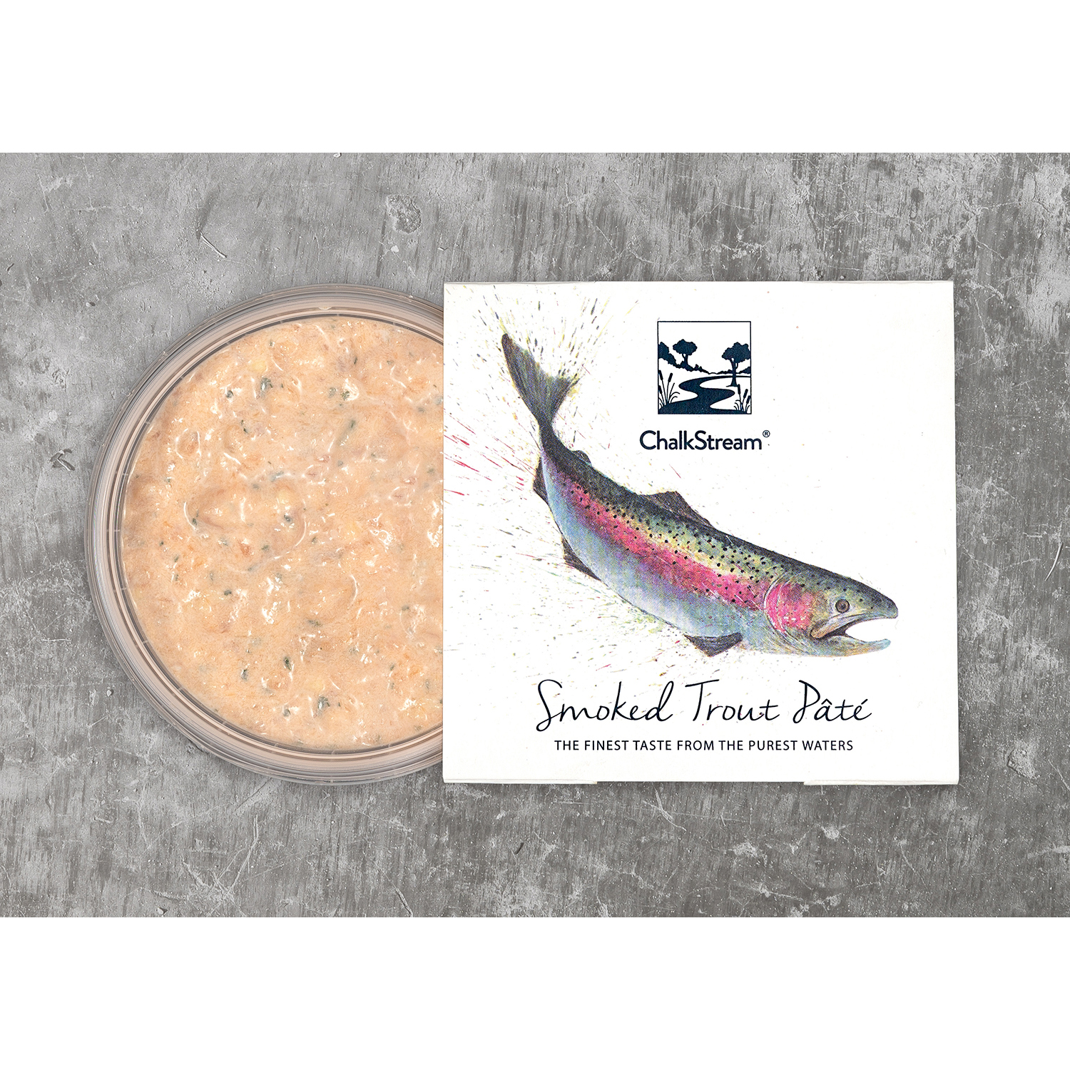 ChalkStream Cold Smoked Trout Pate 150g