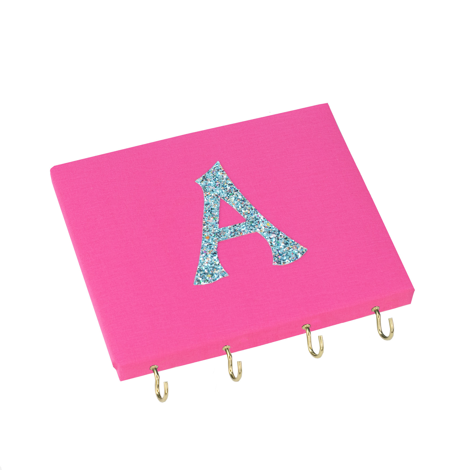 Personalised Initial Board – Pink / Turquoise Initial