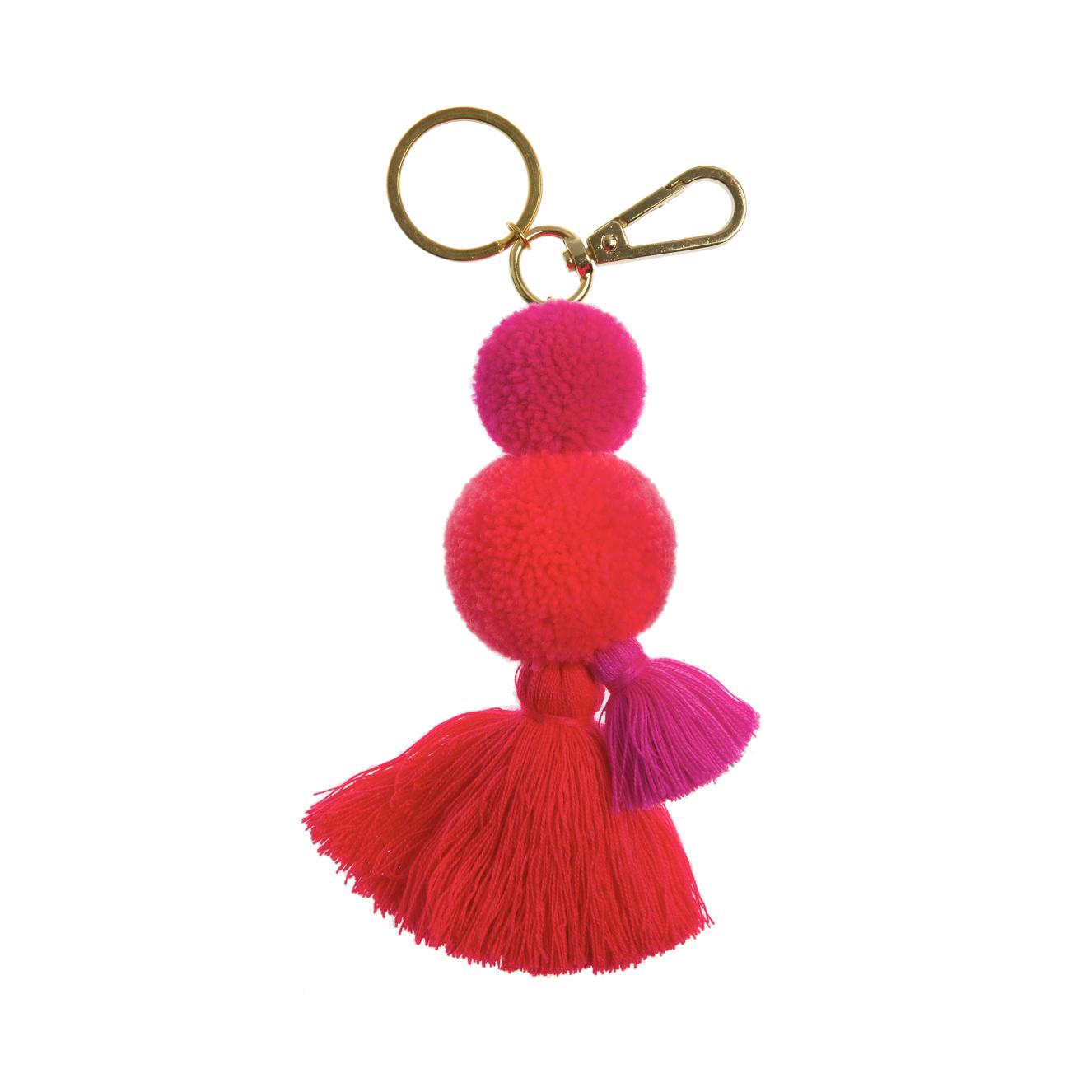 Pom Pom & Tassel Bag Charms