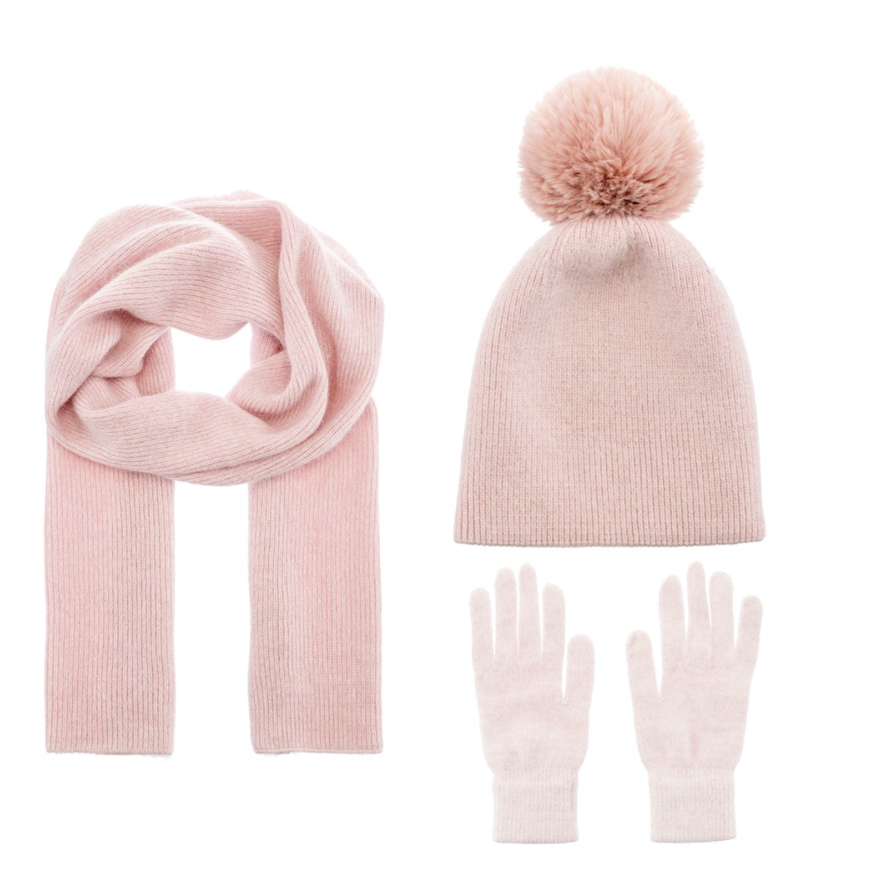Matching hat, Glove and Scarf Set