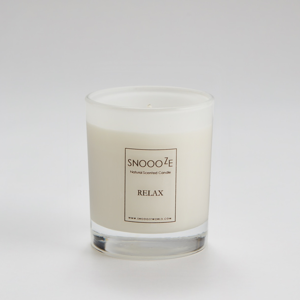 Natural scented candle (Relax)
