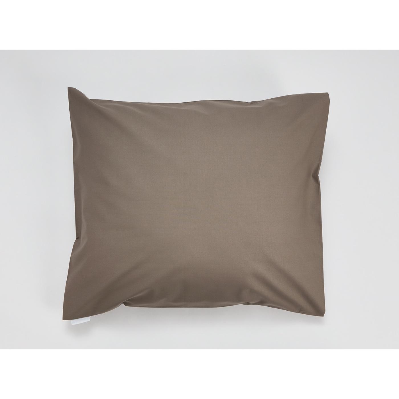 Snoooze cotton pillowcase (Mocha)