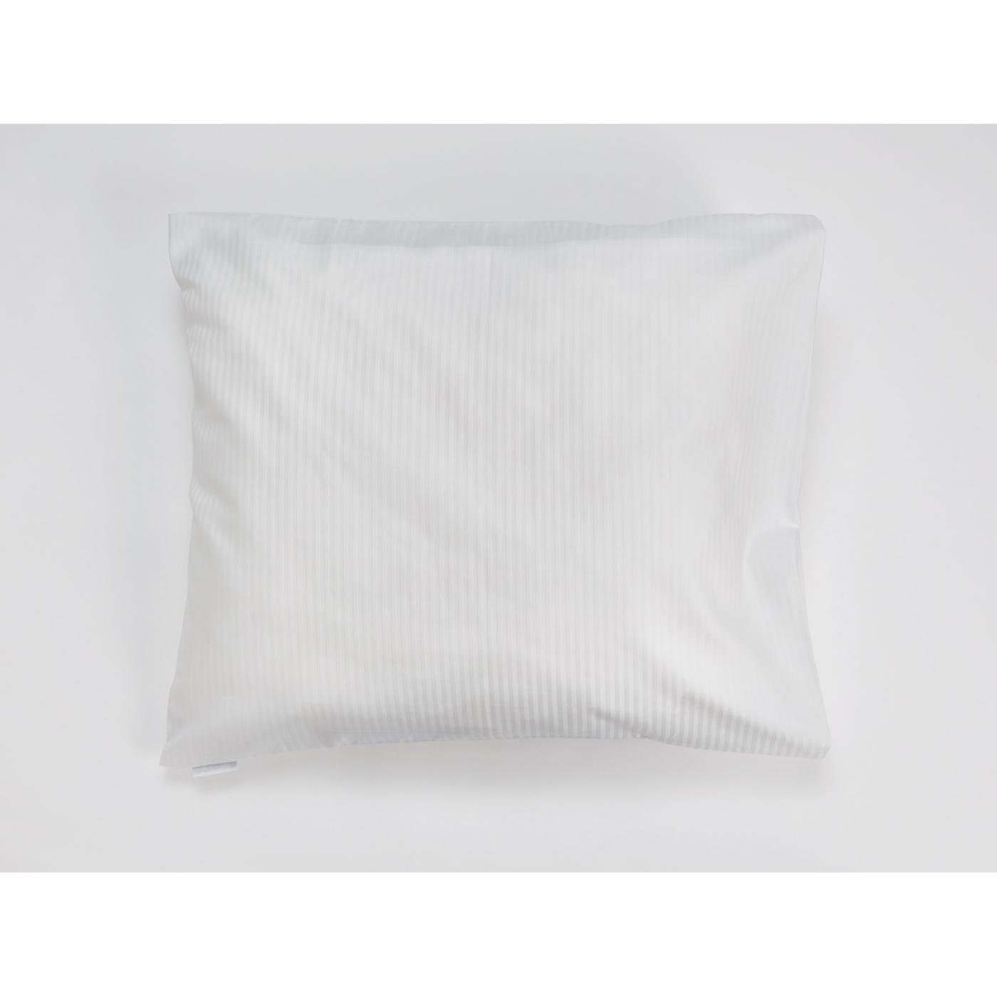 Snoooze cotton pillowcase (white)