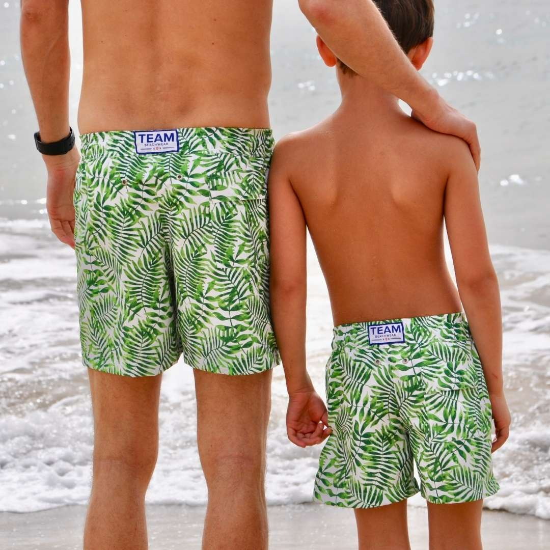 Men's Leaf Swim Shorts