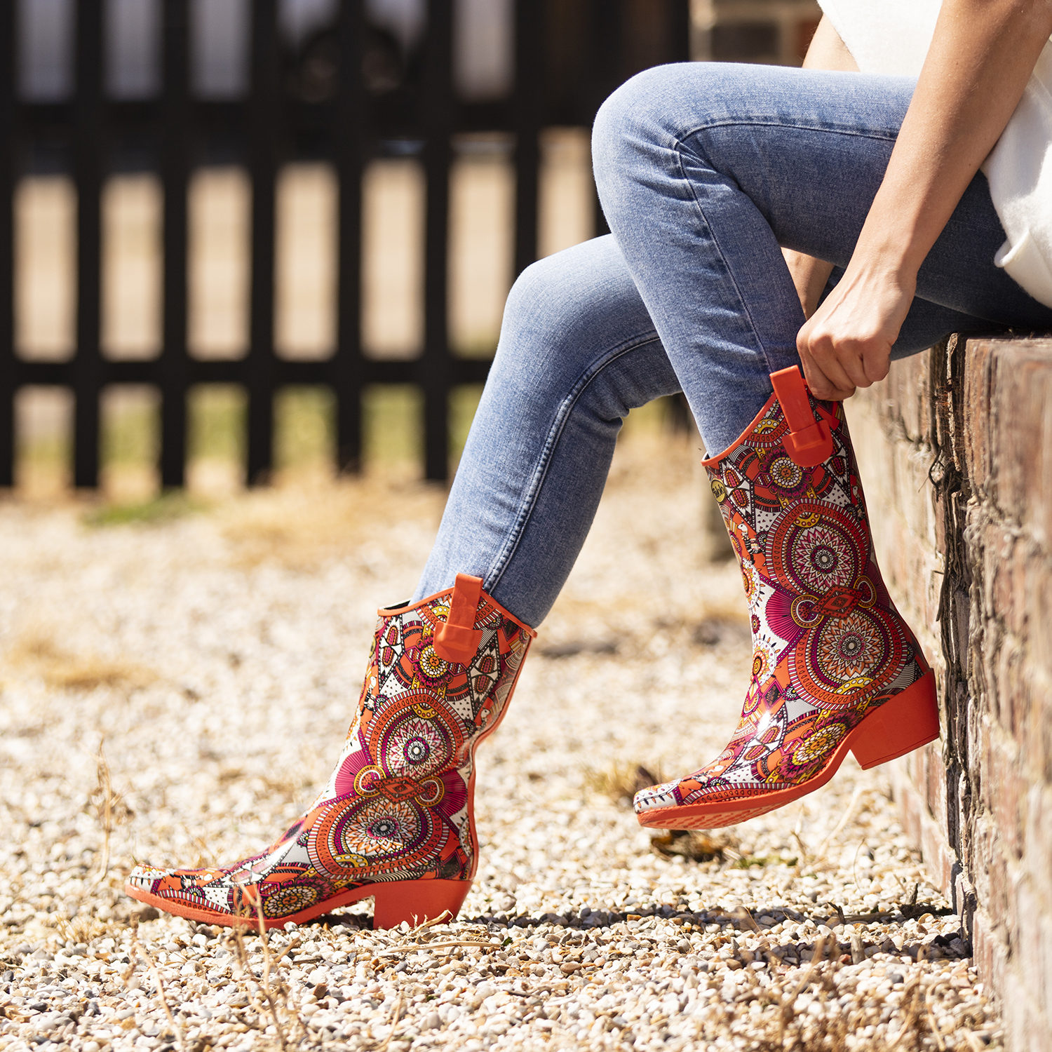 Aztec Funkwelly boot