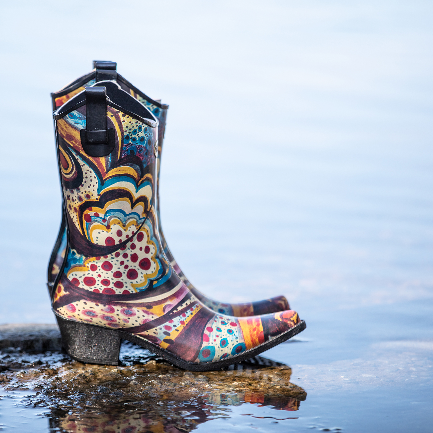 Floral Blisswelly boot