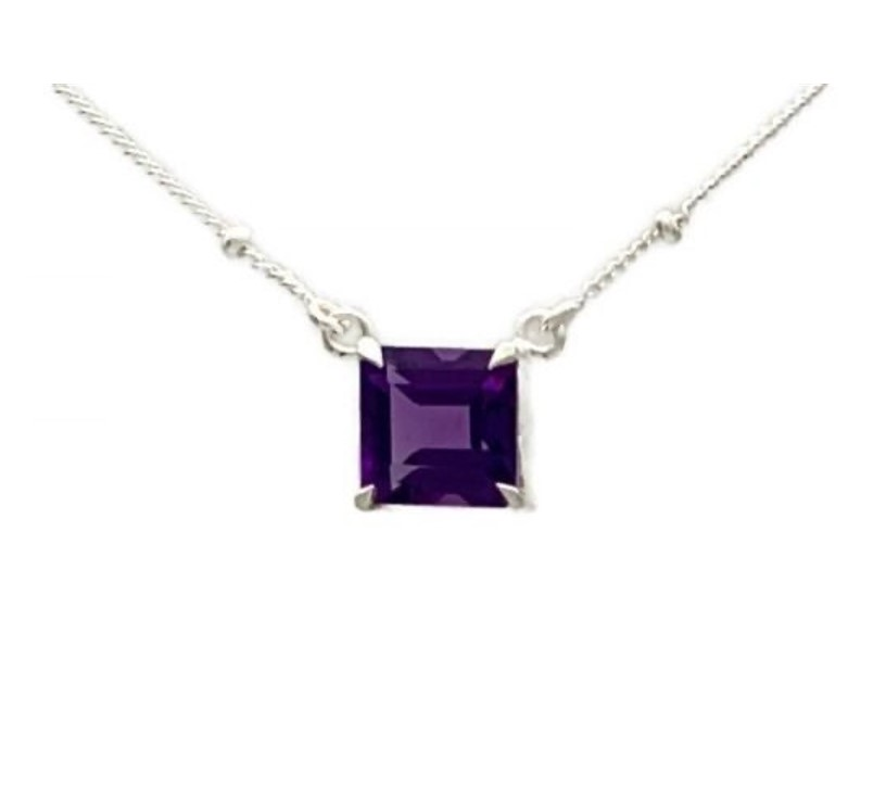 Themis Necklace – Amethyst