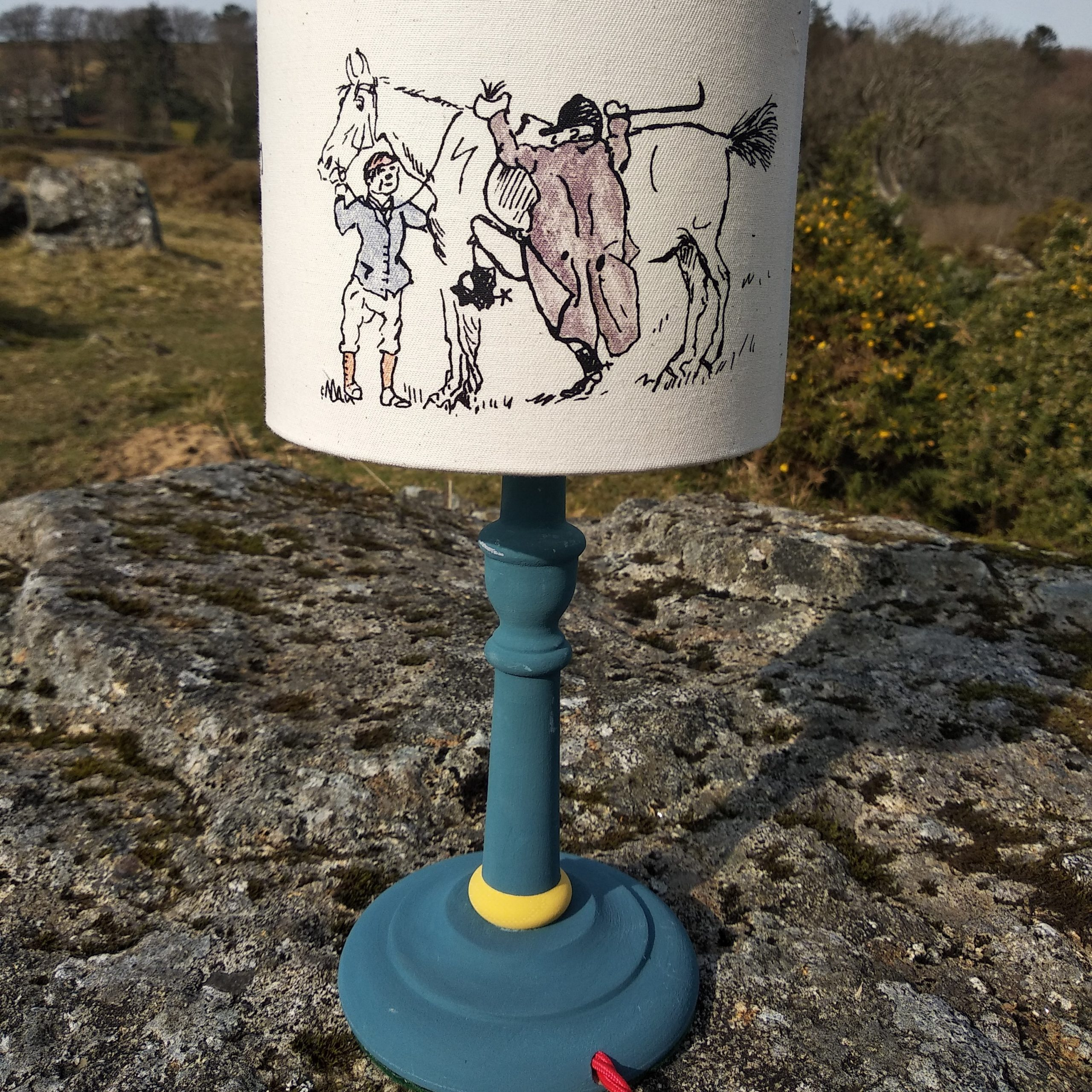 15 cm Lampshade The Cat and The Fiddle