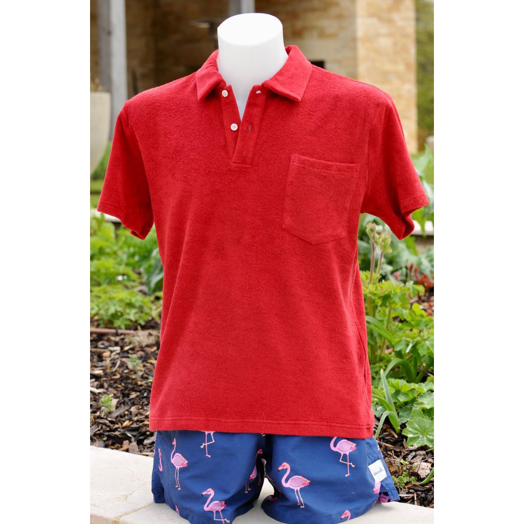 Red Towel Shirt