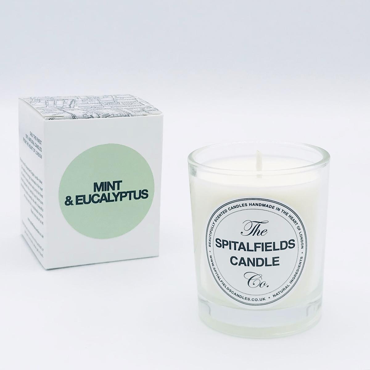 Mint & Eucalyptus 65g votive candle
