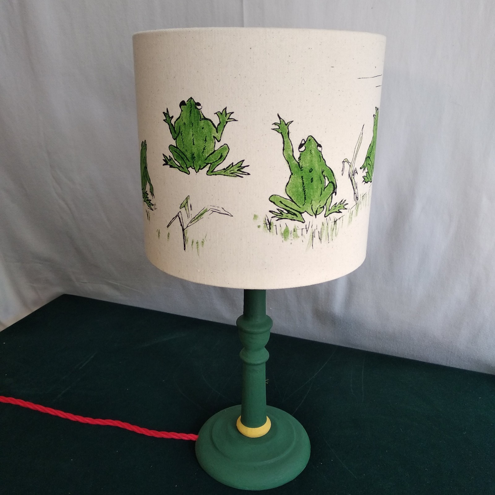 25 cm Lampshade Mr Frog and Mr Rat