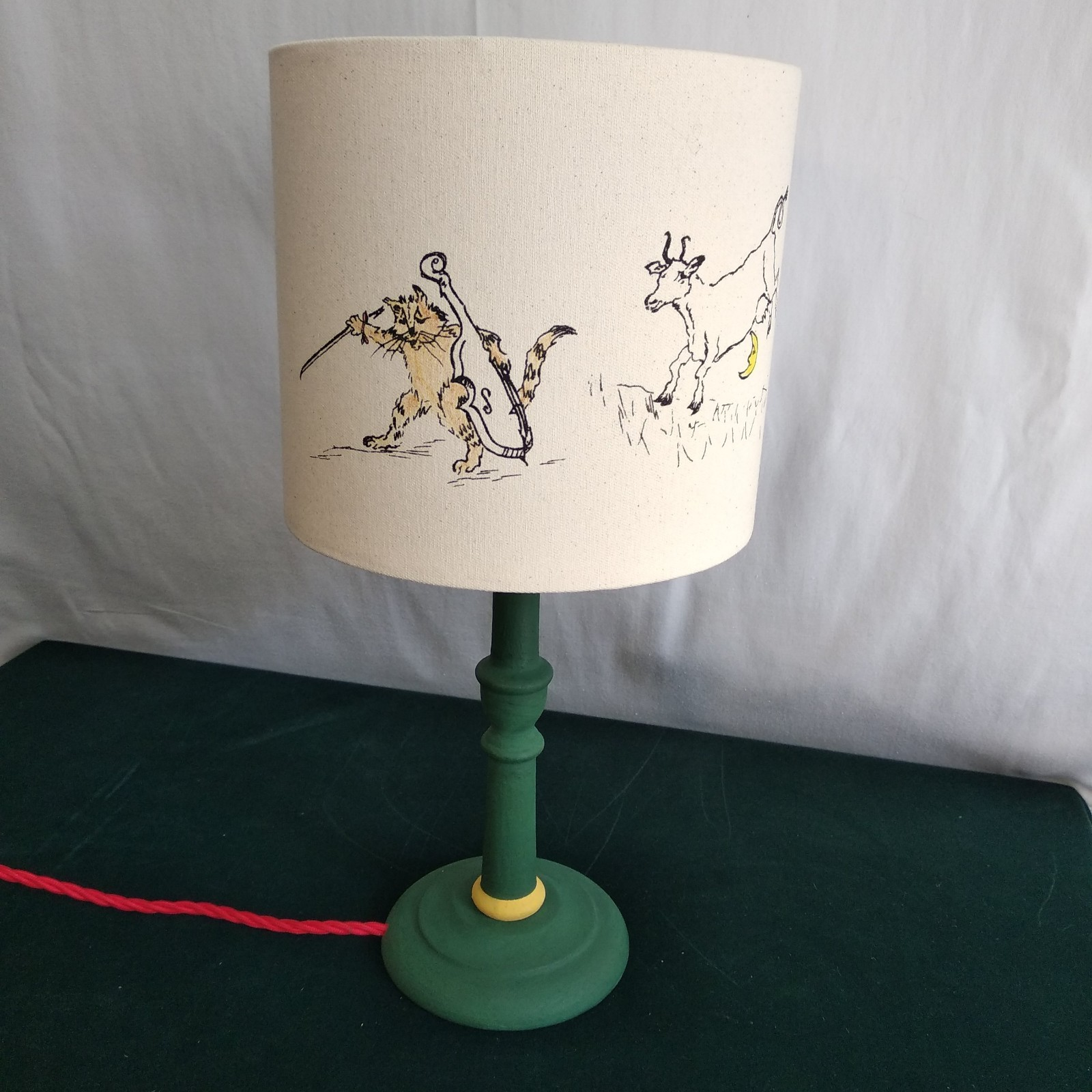 20 cm Lampshade The Cat and The Fiddle