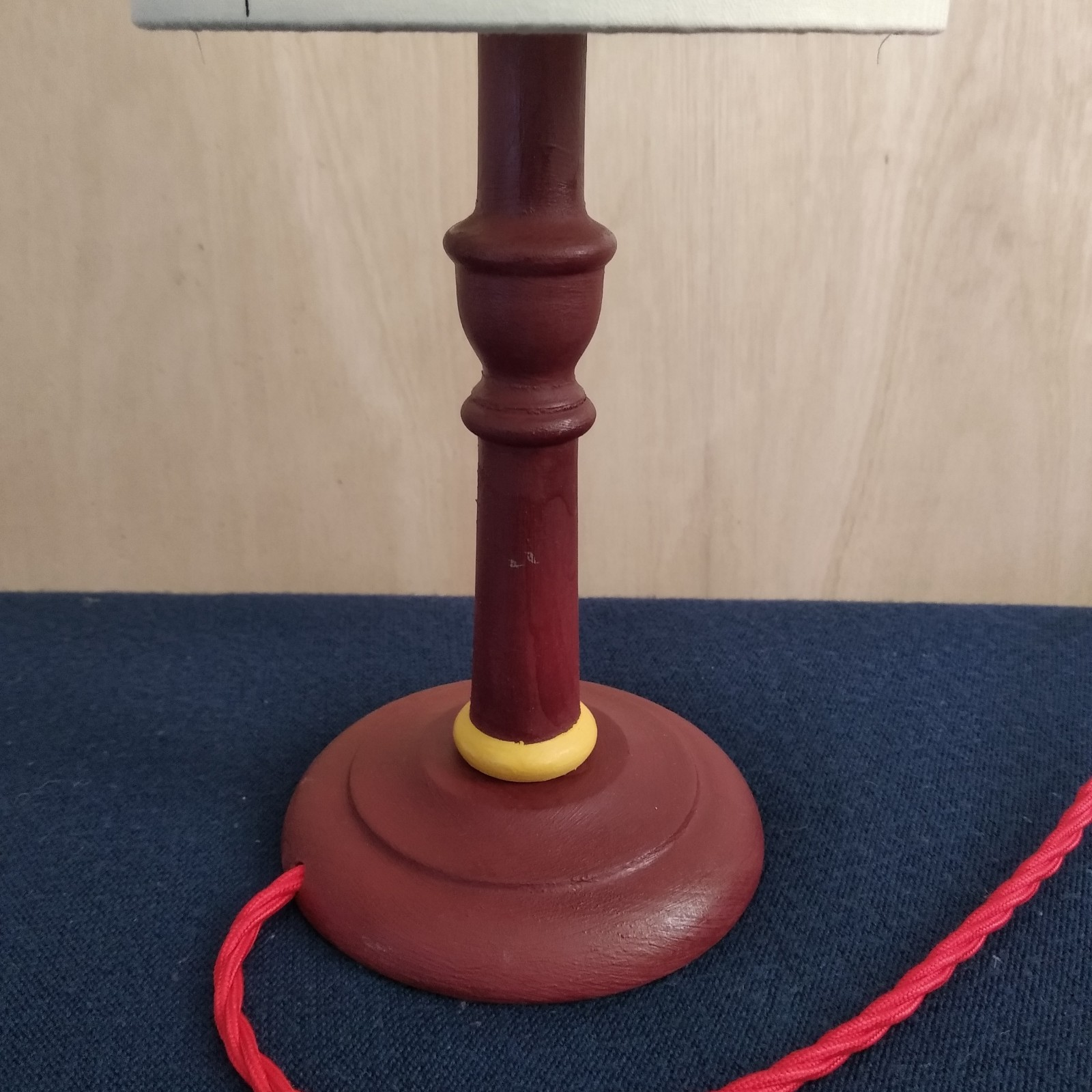 Lampstand for Drum shades Acorn